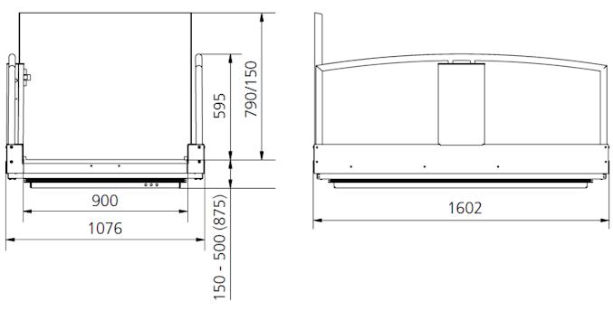 H-875 specificaties