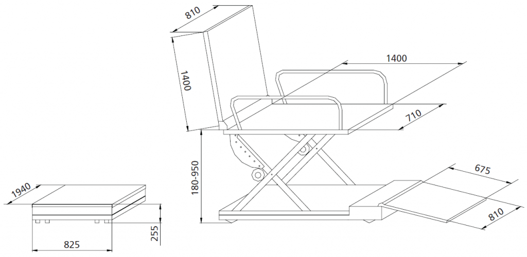 MH-1200 specificaties