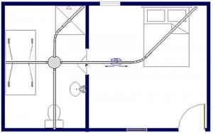Tilsysteem - plafondlift ontwerpvoorbeeld 8 800x500