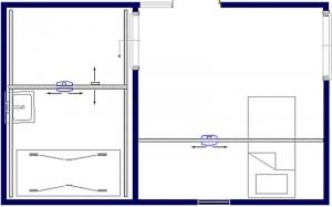 Tilsysteem - plafondlift ontwerpvoorbeeld 9 800x500