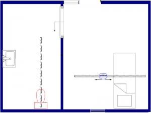 Voorbeeld 5 - enkele rails met flexlift 800x600