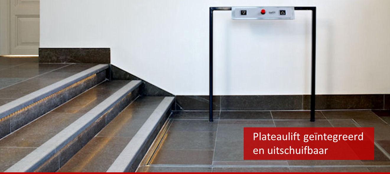 Slider plateaulift uitschuifbaar 1320x588