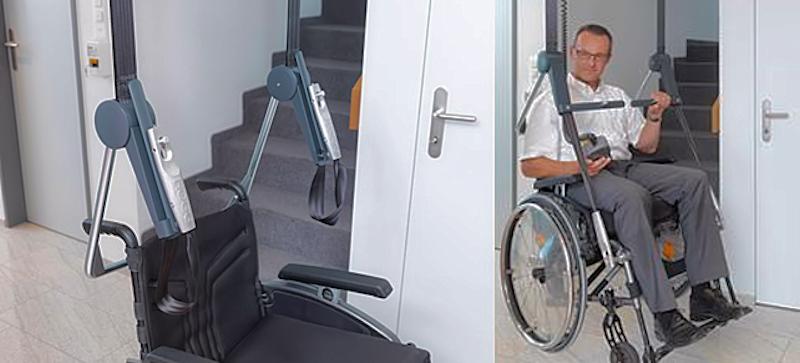 Bevestiging rolstoel aan zweeflift 800x363