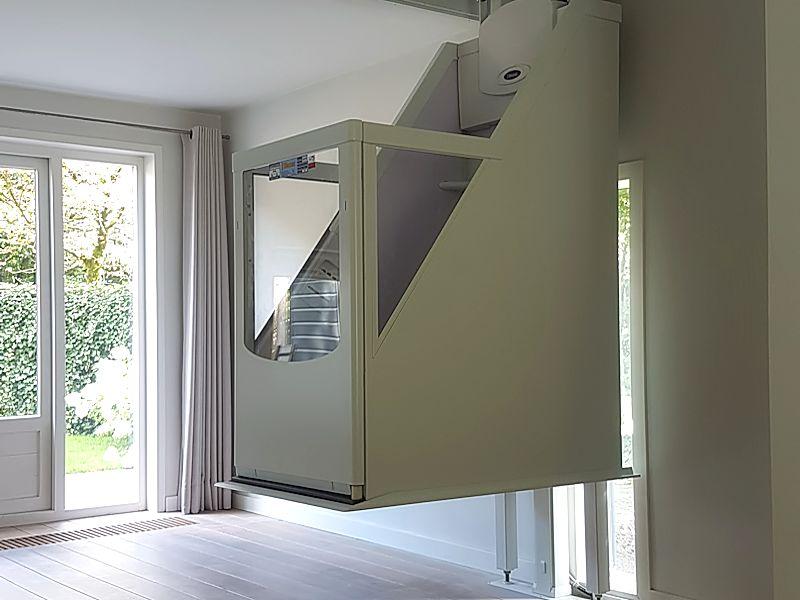 Lift In Huis : Woonhuislift domicare